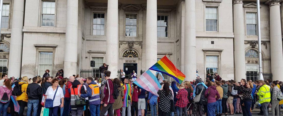 The first Dublin Trans Pride 2018